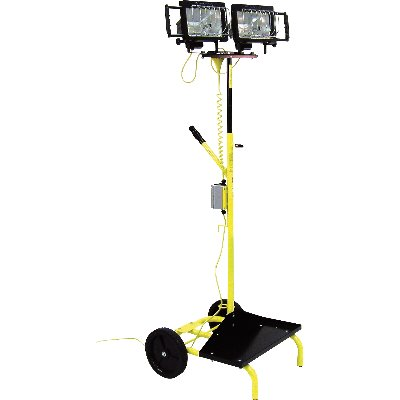 1000 Light Stand on cart