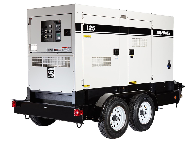 100 kW Generator- Portable