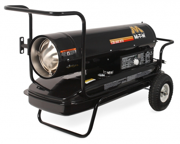 135,000 BTU Forced Air Kerosene Heater
