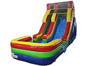15' Tall Wet/Dry Slide