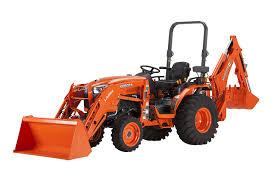 Kubota B3350HSD 4WD Diesel Tractor w/Backhoe Attachment