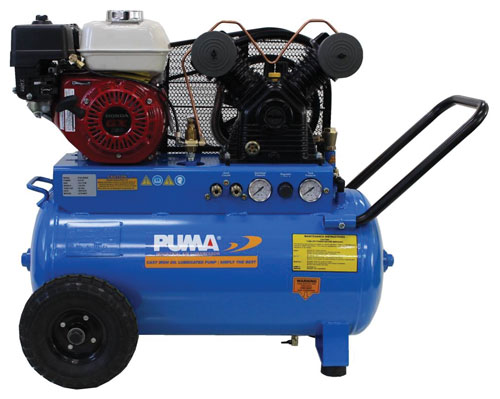 Air Compressor- Gas-20 Gal, 9 CFM, 5.5 HP