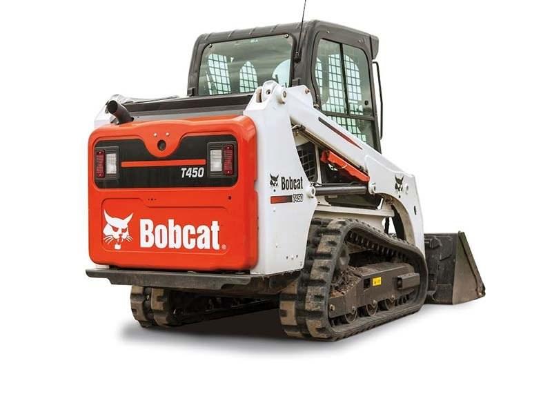 Bobcat T450 Skid Steer Track Loader