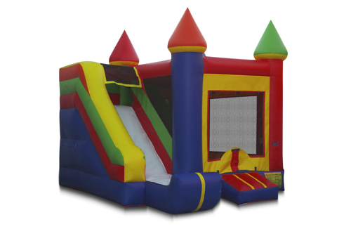 20' x 19'  Bounce House Combo w/ DRY Slide