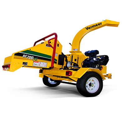 Brush Chipper- 6 x 8 inch in-feed capacity