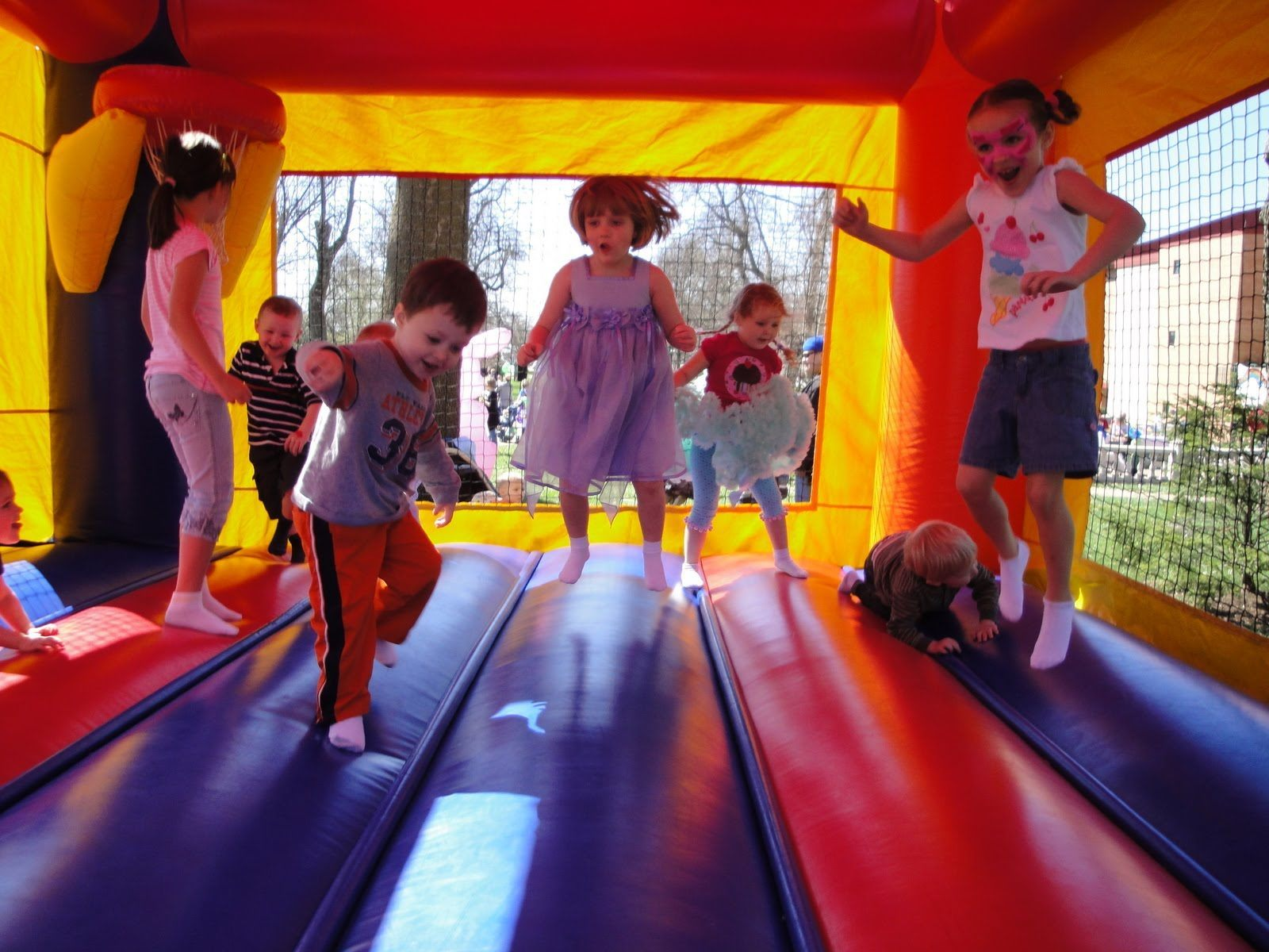 Rainbow Castle Party Package - CUSTOMER PICK-UP