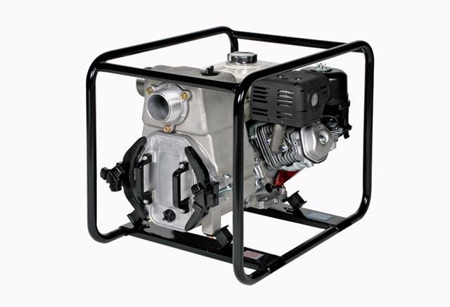 Trash Water Pump- Gas, 5.5 HP- 2in Discharge
