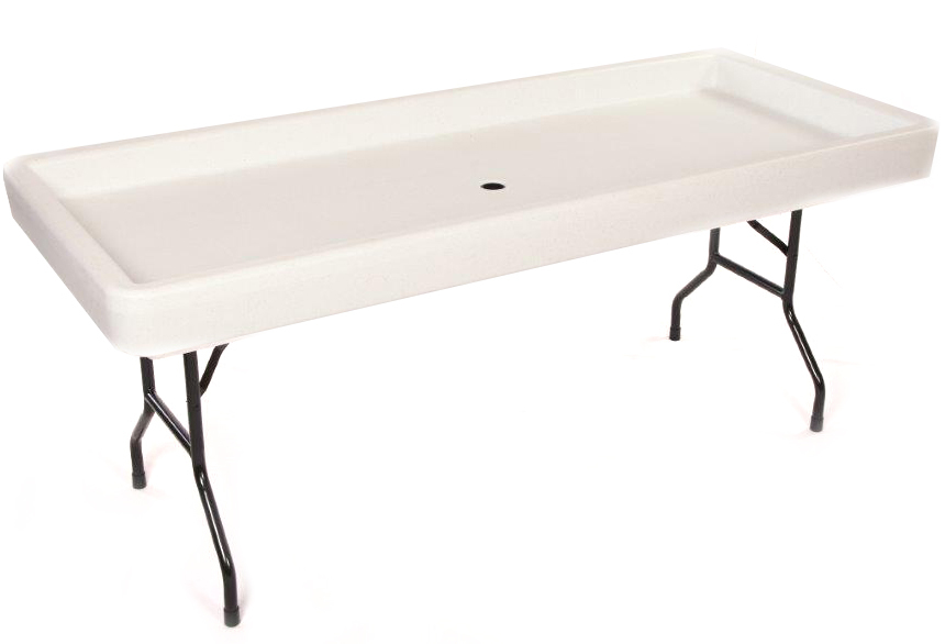 Fill-n-Chill Table - 6'