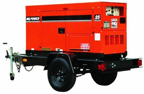 Generator- 20 kW, Tow Behind