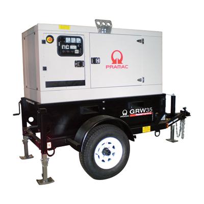 50 kW Generator- Tow Behind