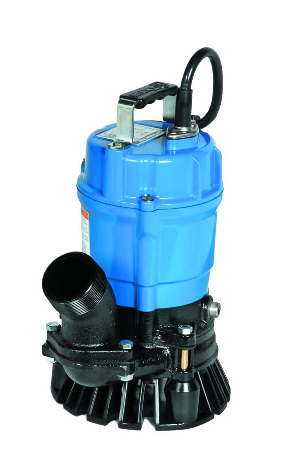 Submersible Trash Pump-Electric, 2 Inch,1/2 HP