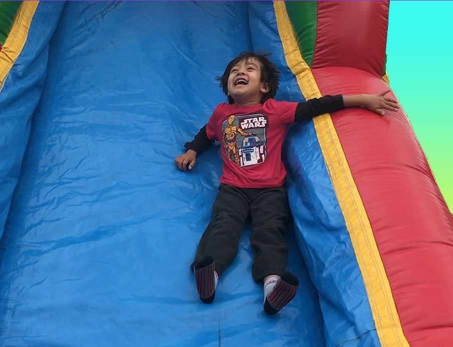 Inflatable Bounce House with Slide Party Package - CUSTOMER PICK-UP