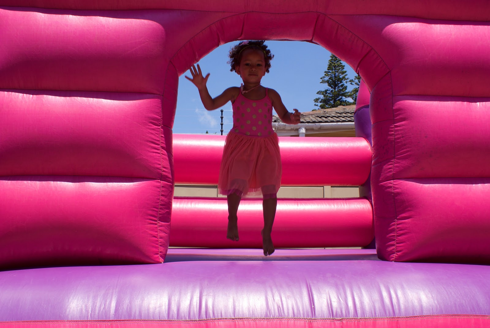 Inflatable Princess Castle Combo Party Package - CUSTOMER PICK-UP