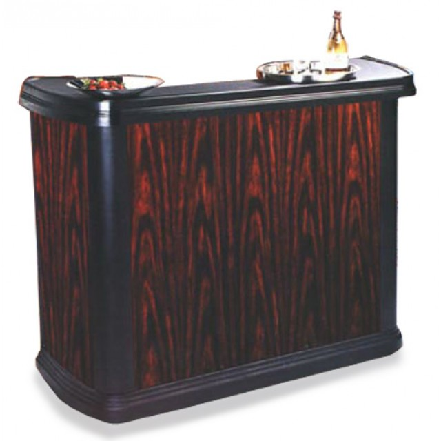 Portable Bar, Cherry Wood