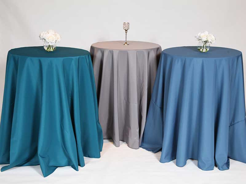 Table Linen-90 in x 156 in rectangle, 59 custom colors