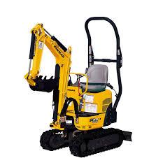 Excavator, Mini Yanmar SV08